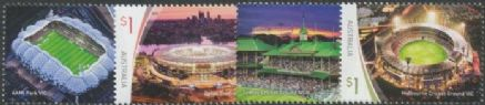 AUS 04/06/2019 Sports Stadiums set of 4